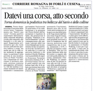 Corriere Romagna del  28/08/2015